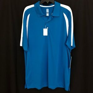 PGA Airflux Men's Blue XL Short Sleeve New $50